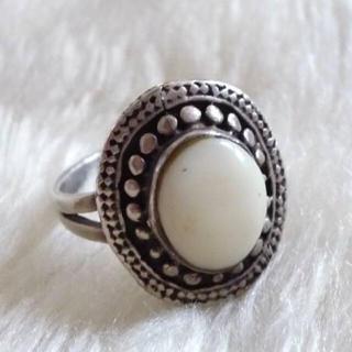 シルバー925ホワイトターコイズリング(リング(指輪))