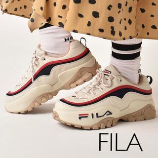 フィラ(FILA)のFILA 20ss 最新作 ロゴ 厚底 スニーカー 23 nike adidas(スニーカー)