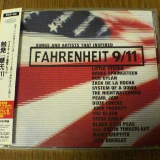映画CD「触発 華氏911」マイケル・ムーア★(映画音楽)