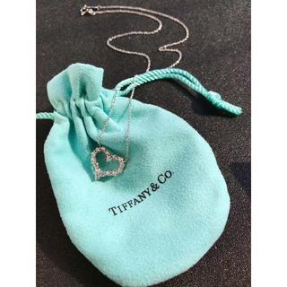 Tiffany & Co. - 美品 Tiffany  ハート型 ネックレス