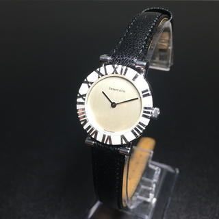 Tiffany & Co. - 【正規品 美品】ティファニー 腕時計 アトラス シルバー925 可動品