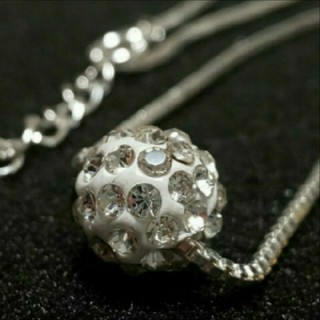 SWAROVSKI - f17 ❇️スカビオサ❇️ ダイヤモンド キュービック ジルコニア ネックレス