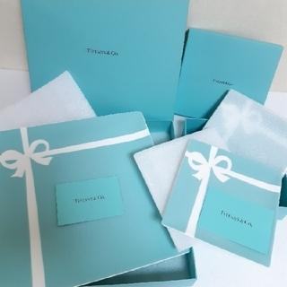 Tiffany & Co. - ティファニー ブルー ボックス プレート デザートペアプレート 2箱 セット
