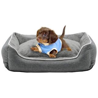 2.29 犬用 猫用 ペット ベッド スクエアベッド グレー (犬)