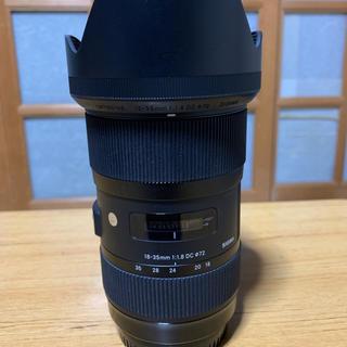 シグマ(SIGMA)のSIGMA 18-35mm F1.8 キャノン用 送料込(レンズ(ズーム))