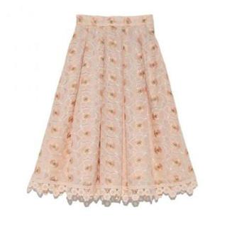 Lily Brown - リリーブラウン♡ 刺繍スカート