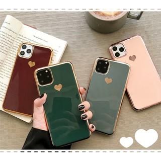 ◆◇大特価セール◇◆iPhone11pro ハート グリーン スマホ ケース(iPhoneケース)