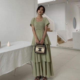 ZARA - ピスタチオカラー ドレス