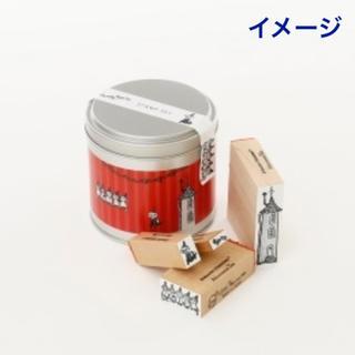 アフタヌーンティー(AfternoonTea)のMOOMIN✖︎ Afternoontea 缶入りスタンプセット(印鑑/スタンプ/朱肉)