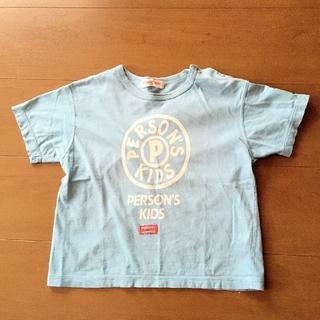 パーソンズキッズ(PERSON'S KIDS)のパーソンズ キッズ Tシャツ 95㎝ 水色(Tシャツ/カットソー)