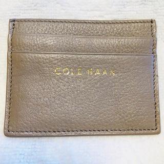 コールハーン(Cole Haan)のCOLE HAAN コールハーン パスケース カードケース(名刺入れ/定期入れ)
