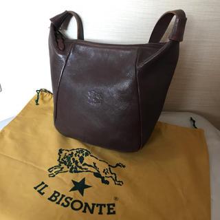 イルビゾンテ(IL BISONTE)の:IL BISONTE イルビゾンテ ロゴ ショルダーバッグ オールレザー (ショルダーバッグ)
