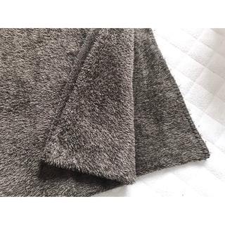 ムジルシリョウヒン(MUJI (無印良品))の☆無印良品 あたたかファイバー厚手毛布 S/ブラウン 140×200cm☆(毛布)