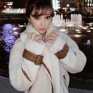 エイミーイストワール(eimy istoire)の本日価格♡eimy♡ビックボアジャケット♡(ブルゾン)