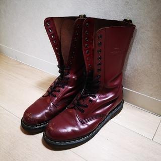 ドクターマーチン(Dr.Martens)のDr.Martins☆14ホールレッドブーツ(ブーツ)