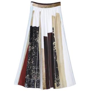 Ameri VINTAGE - Ameri FUDE ART SKIRT アメリヴィンテージスカート