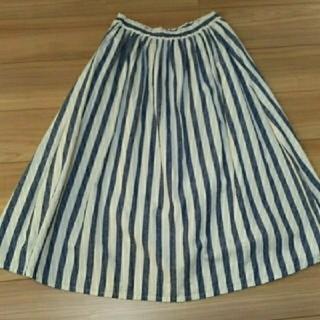 SM2 - 最終お値下げ❣️SM2 綿麻ストライプスカート