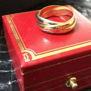 Cartier - 9g✨希少✨Cartier✨カルティエ✨K18トリニティリング✨