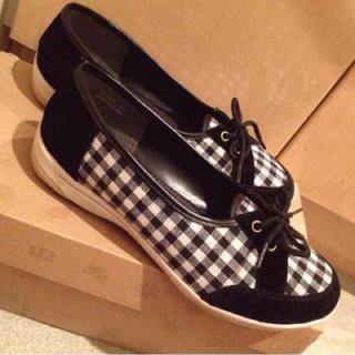 841様専用美品★ギンガムチェック軽量靴(ハイヒール/パンプス)
