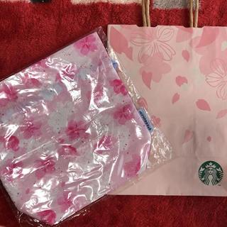 Starbucks Coffee - スタバ さくら サクラ 巾着 ノベルティー 桜 スターバックス