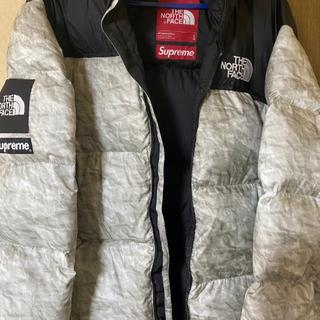 Supreme - supreme × north face paper ヌプシ  Lサイズ