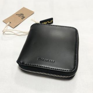 Dr.Martens - 【新品】Dr.Martens マーチン 財布 二つ折り 黒 ブラック 正規品