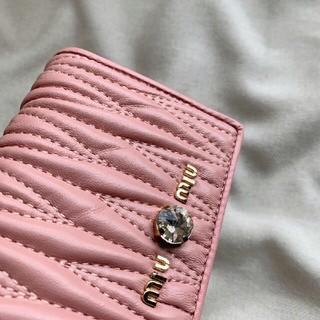 miumiu - 新品未使用 ミュウミュウ miumiu 財布