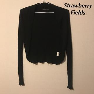 ストロベリーフィールズ(STRAWBERRY-FIELDS)のStrawberry-Fields リブニットボレロ(ボレロ)