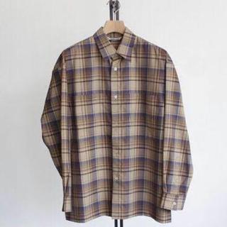 SUNSEA - AURALEE 18aw wool check shirts