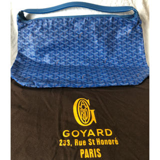 GOYARD - 【週末お値下げ】GOYARD ワンショルダー フィッジィ ブルー