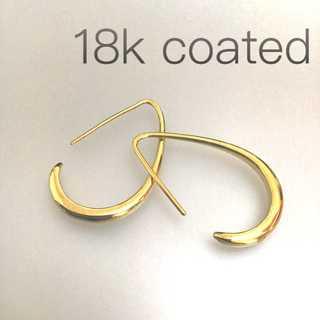 フープピアス 18kコーティング ゴールド レディース 金 ドゥーズィエムクラス(リング(指輪))
