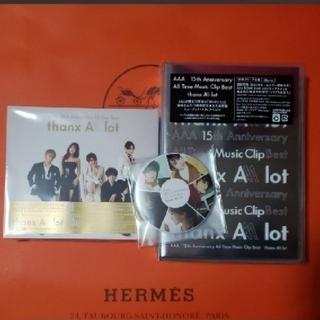 トリプルエー(AAA)のAAA ♥ベストアルバム♥MVクリップ  2Blu-rayセット ♥楽天特典つき(ミュージック)