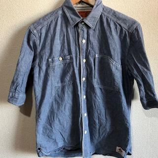 ディッキーズ(Dickies)のディッキーズ 5部丈 シャンブレーシャツ(シャツ)