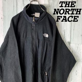 THE NORTH FACE - 【人気】NORTH FACE ノースフェイス 薄手 フルジップ フリース 黒