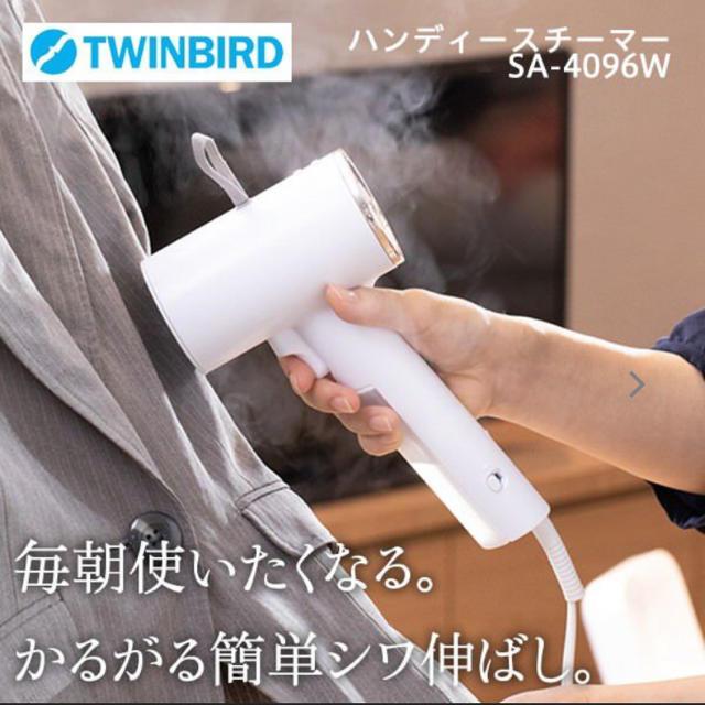 TWINBIRD(ツインバード)の新品 ツインバード ハンディースチーマー  スマホ/家電/カメラの生活家電(アイロン)の商品写真