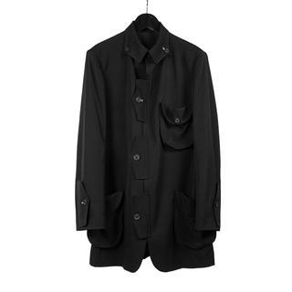 Yohji Yamamoto - ヨウジヤマモト 20ss フラップジャケット