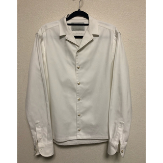 kolor - 18SCM kolor オープンカラーシャツ