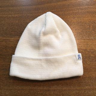 ユナイテッドアローズ(UNITED ARROWS)のスティーブンアラン ニット帽 ホワイト ユナイテッドアローズ(ニット帽/ビーニー)