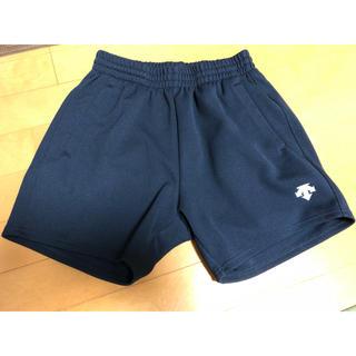 デサント(DESCENTE)の美品 デサント DESCENTE バレーボールパンツ サイズO ネイビー 紺色(バレーボール)