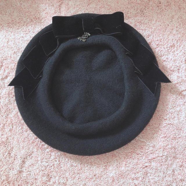 ALICE and the PIRATES(アリスアンドザパイレーツ)のリボンベレー レディースの帽子(ハンチング/ベレー帽)の商品写真