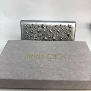 JIMMY CHOO - ❤セール❤ ジミーチュウ 財布 長財布 スタースタッズ レザー 本革 レディース