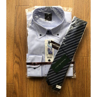 Marie Claire - 未使用 マリクレール長袖ボタンダウンシャツとネクタイセット