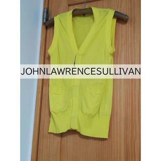 ジョンローレンスサリバン(JOHN LAWRENCE SULLIVAN)のジョンローレンスサリバン ベスト 黄色(ベスト)