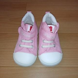 mikihouse - 希少 レア 新品 未使用 ミキハウス ロゴ スニーカー 靴 14.5cm