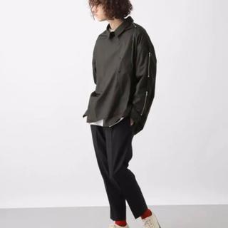 HARE - 【50%OFF‼️】hare BIGデザインZIPシャツ オープン ジップ