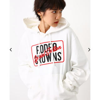 RODEO CROWNS WIDE BOWL - ロデオクラウンズワイドボウル メニータグパーカー 新品♡