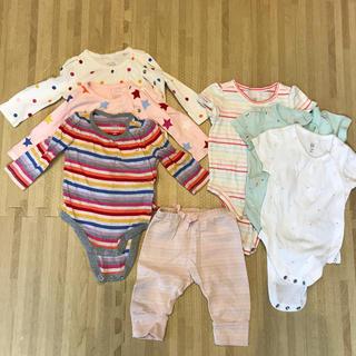 ベビーギャップ(babyGAP)のベビーギャップ⭐︎ボディシャツ長袖・半袖、パンツ(ロンパース)