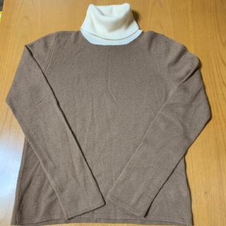 Gucci - グッチ カシミヤ100% タートルネックセーター L