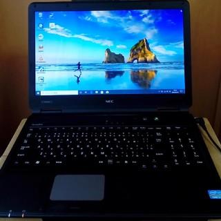 NEC - NEC製 ノートパソコン windows10 DVD見れます core i3