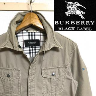 BURBERRY BLACK LABEL - 希少!BURBERRYバーバリー ホースマーク  ノバチェック シャツジャケット